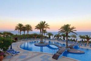 Griechenland_Familienferien_Rodos Princess Beach_Rhodos_Pool bei Sonnenuntergang