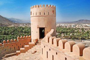 Oman Ferien Fort Nakhl