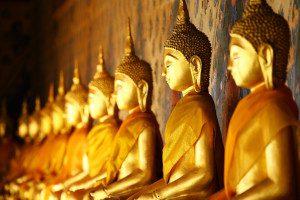 Sri Lanka Badeferien Goldene Buddhas