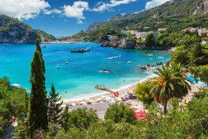 Badeferien Griechenland Korfu Bucht