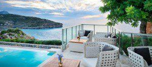 Mallorca_Luxusferien_Jumeirah Port Soller_Restaurant Aussicht. Luxushotels